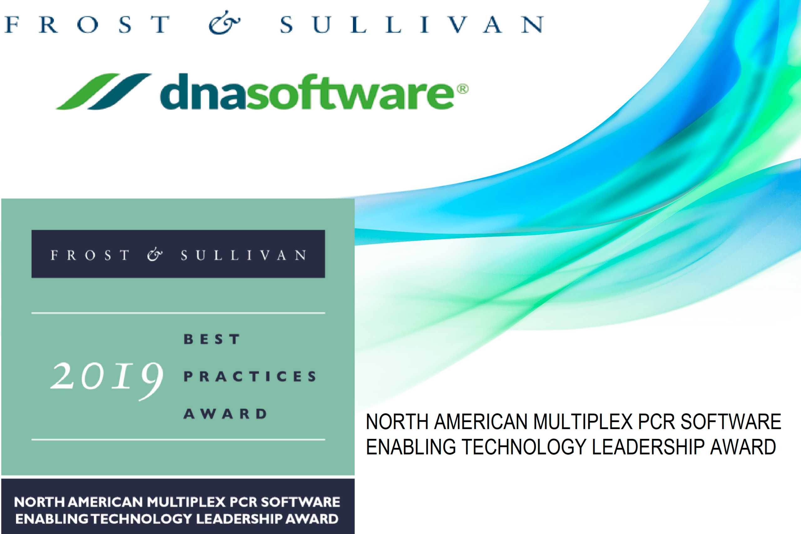 2019 Frost and Sullivan Award